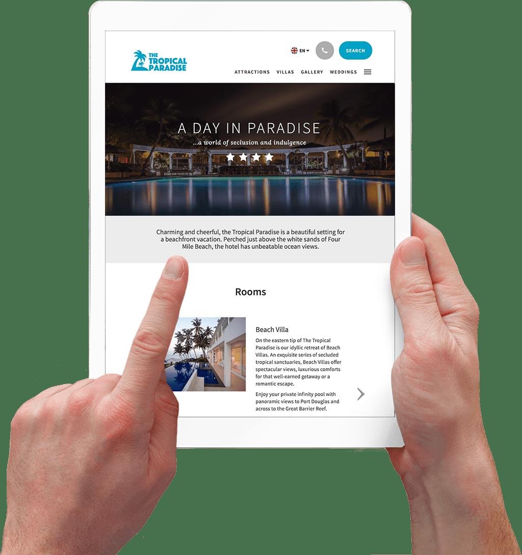 Diseño de sitios web hoteleros