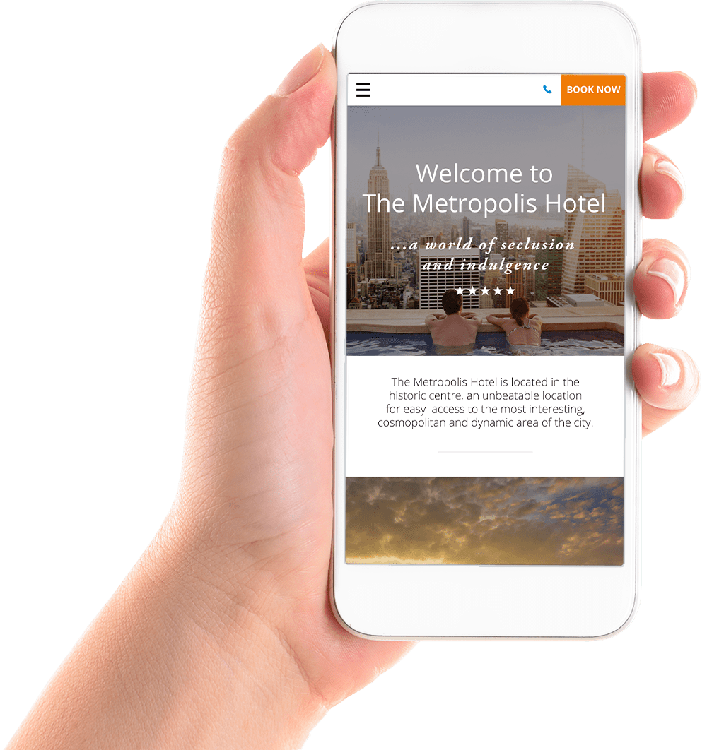 Mobile responsive hotel websites