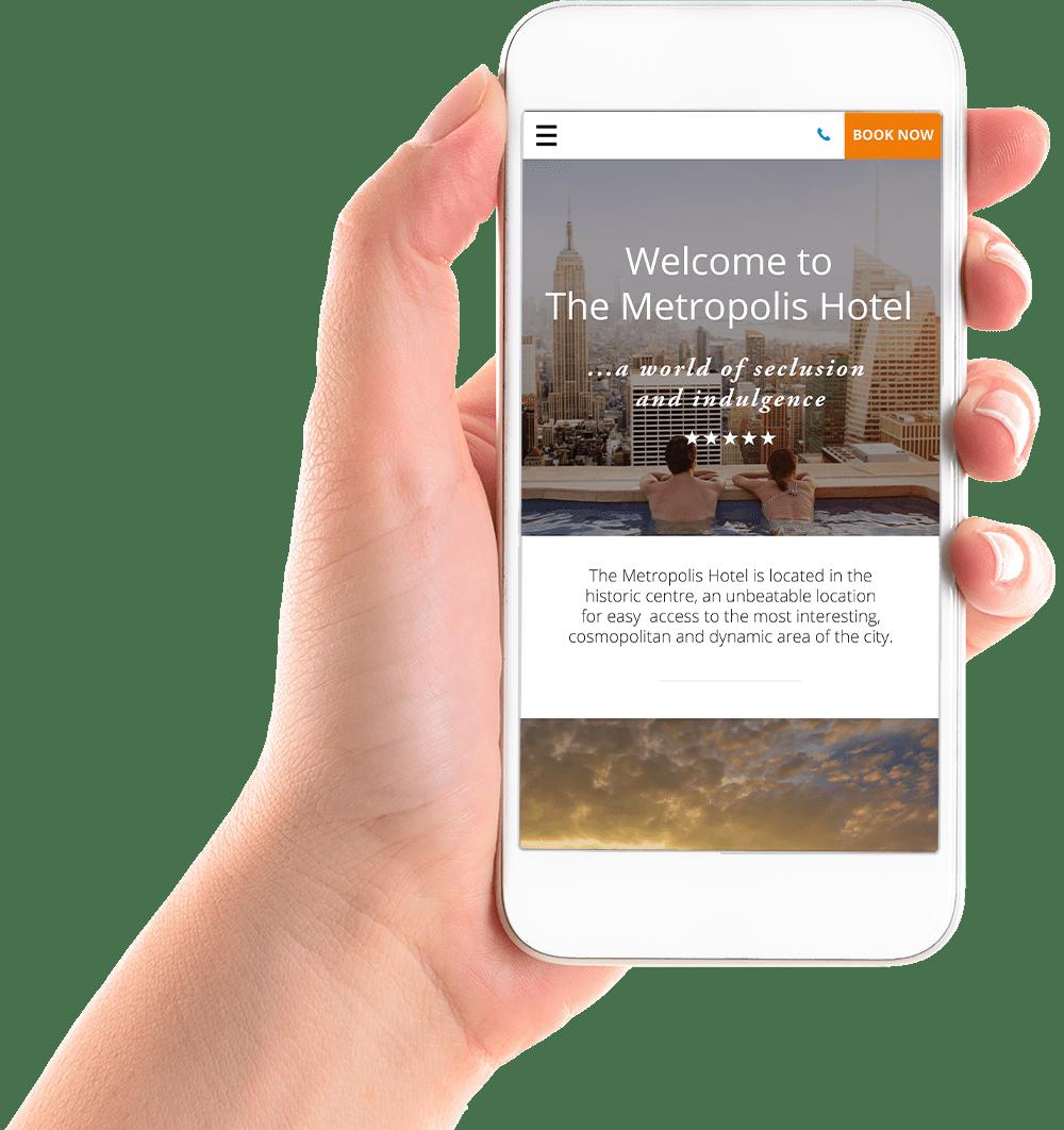 Mobile responsive hotel websites